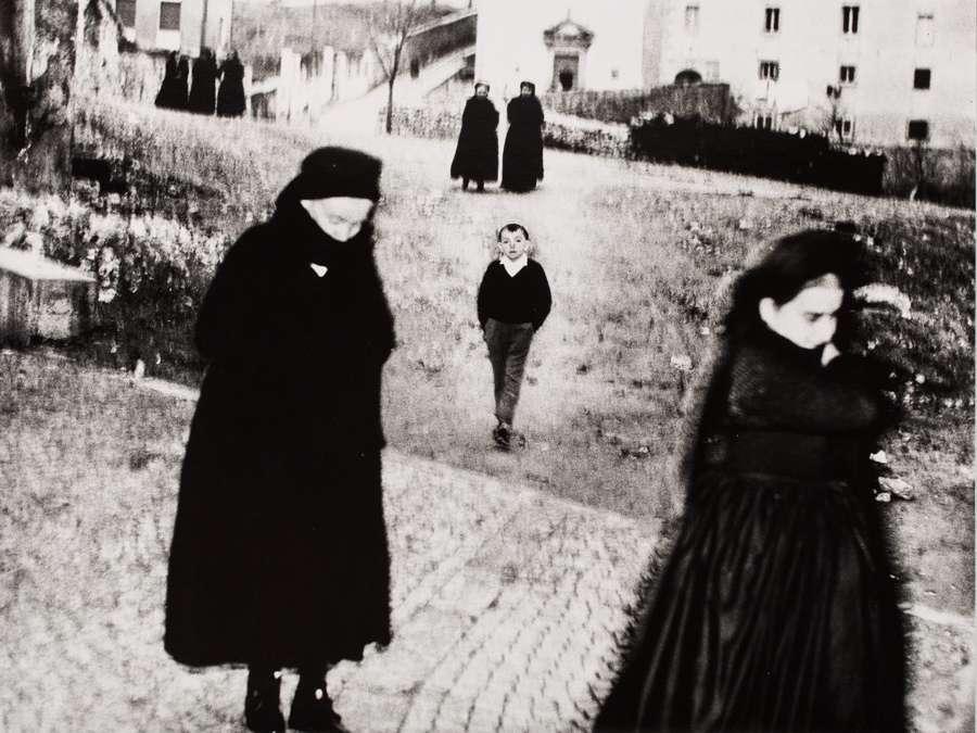 Il bambino di Scanno, Mario Giacomelli, 1957