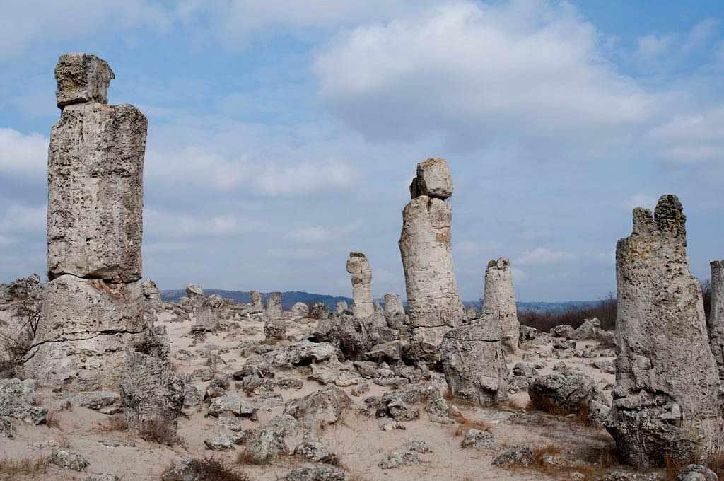 Побитите камъни или Каменната гора край Варна