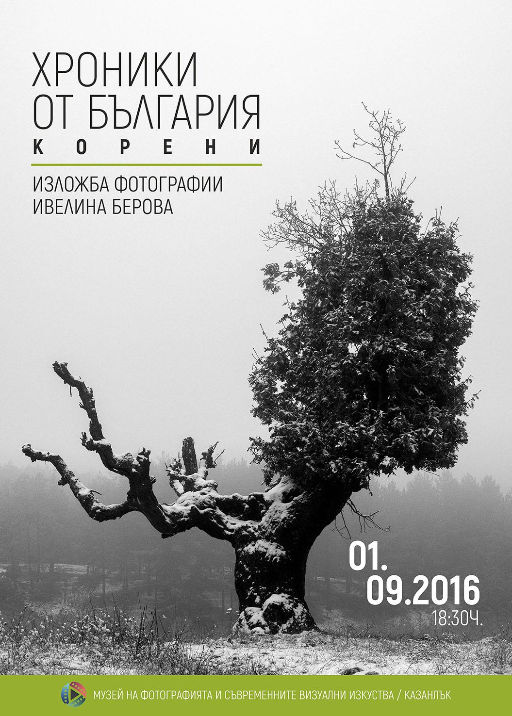 Хроники от България: Корени – Изложба в музей на фотографията/Казанлък