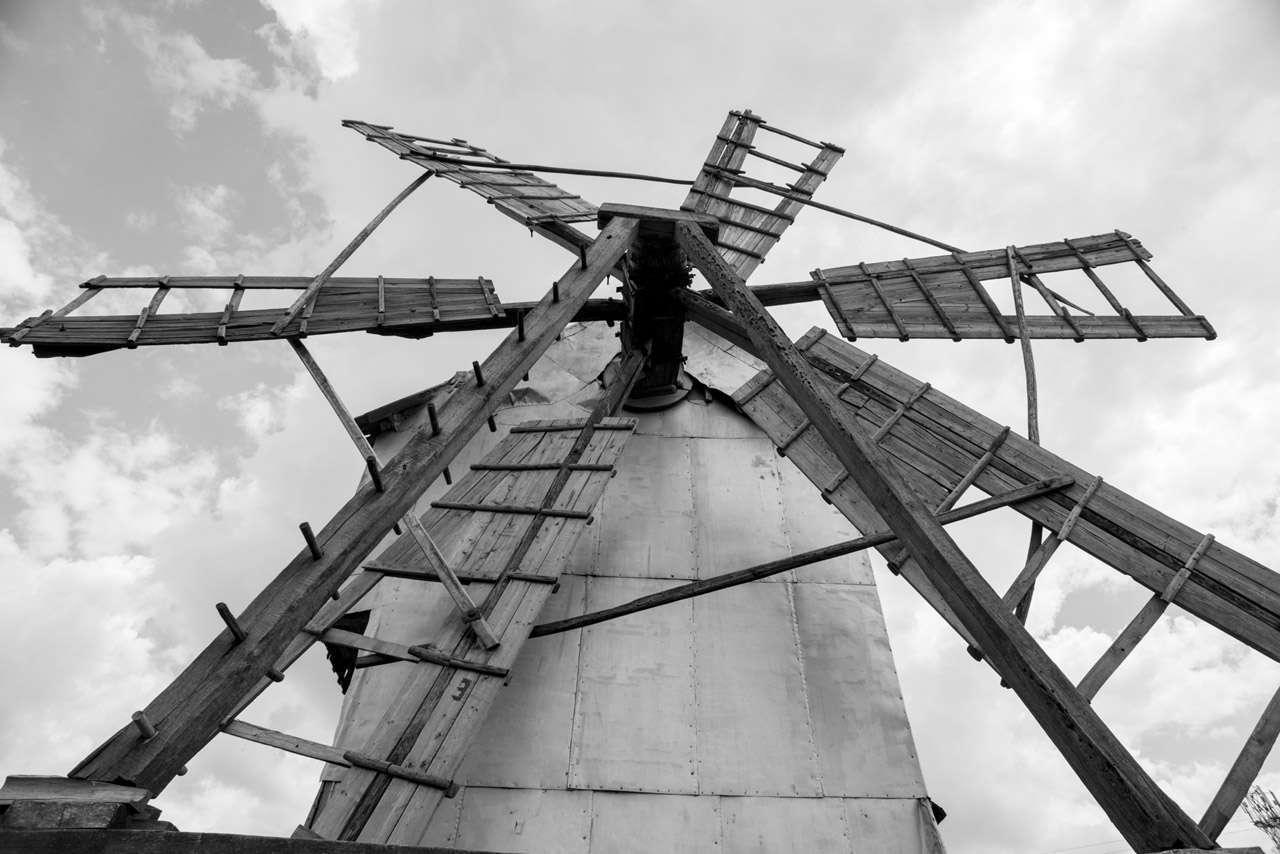 Да впрегнеш вятъра или историята на една жива мелница в Лудогорието