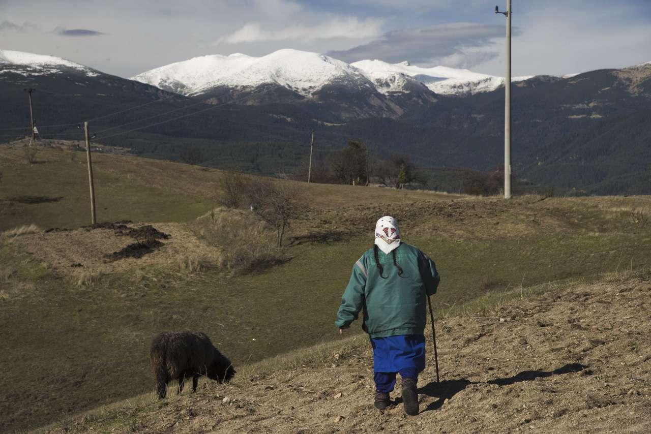 Село Конарско в Западни Родопи.