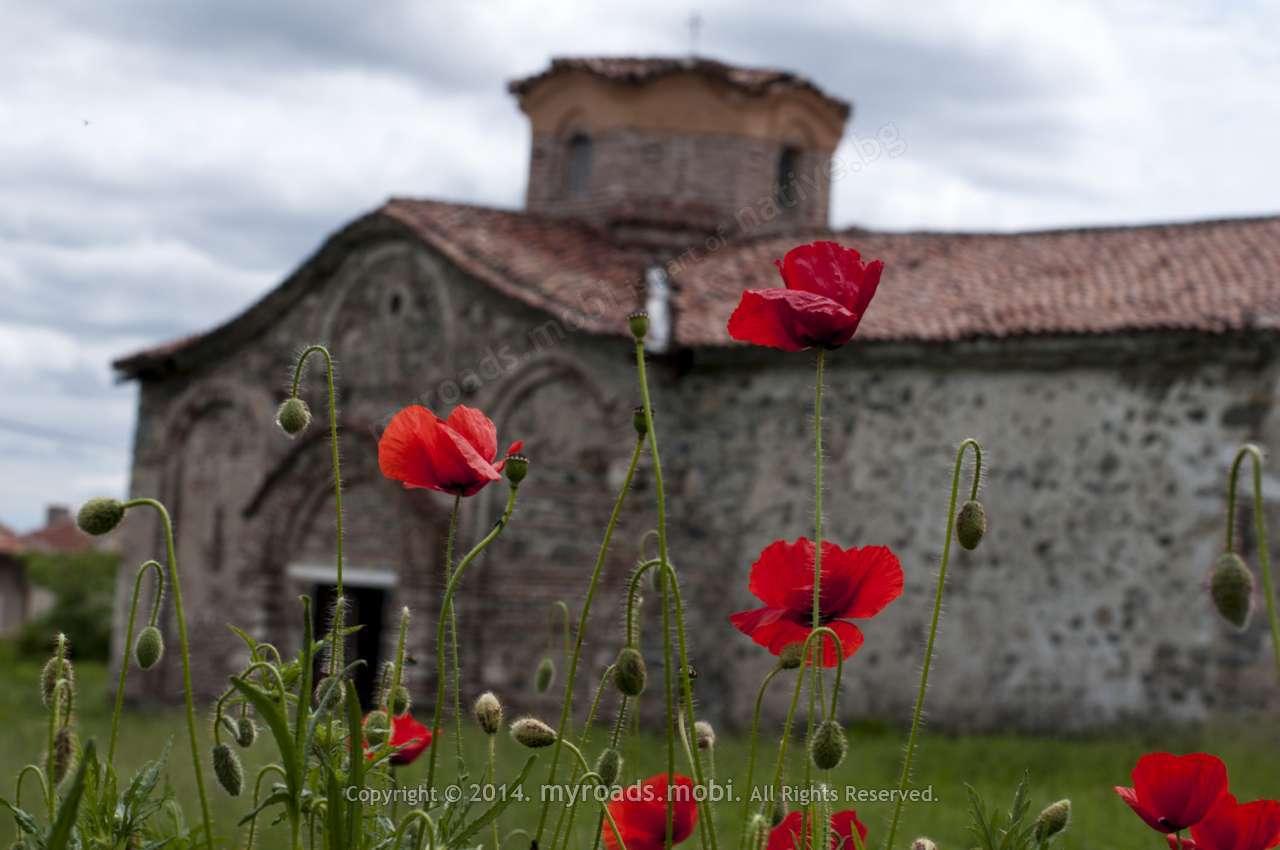 Заровената средновековна църква в с. Паталеница